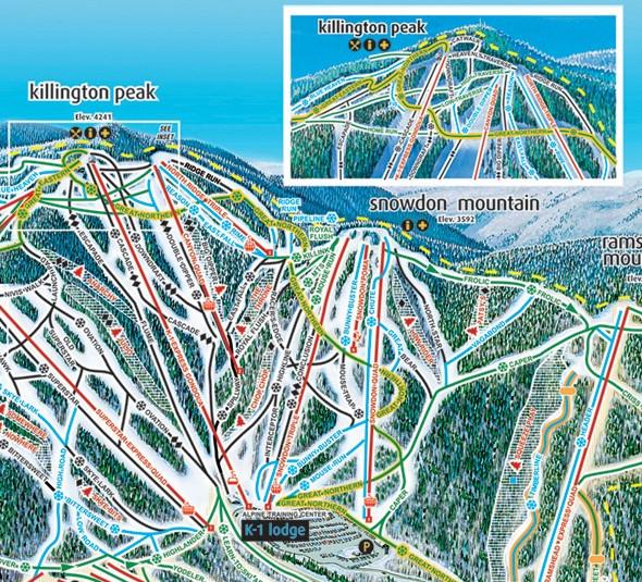Killington - Alpine Adventures - Luxury Ski VacationsAlpine ... on stowe ski map, lutsen mountains ski map, north carolina ski map, marmot basin ski map, breckenridge ski map, cannon mountain ski map, okemo ski map, pico ski map, wild mountain ski map, connecticut ski map, mount snow ski map, mount kato ski map, bradford ski map, shawnee peak ski map, bretton woods ski map, greek peak ski map, diamond peak ski map, snowshoe mountain ski map, 49 degrees north ski map, tyrol basin ski map,