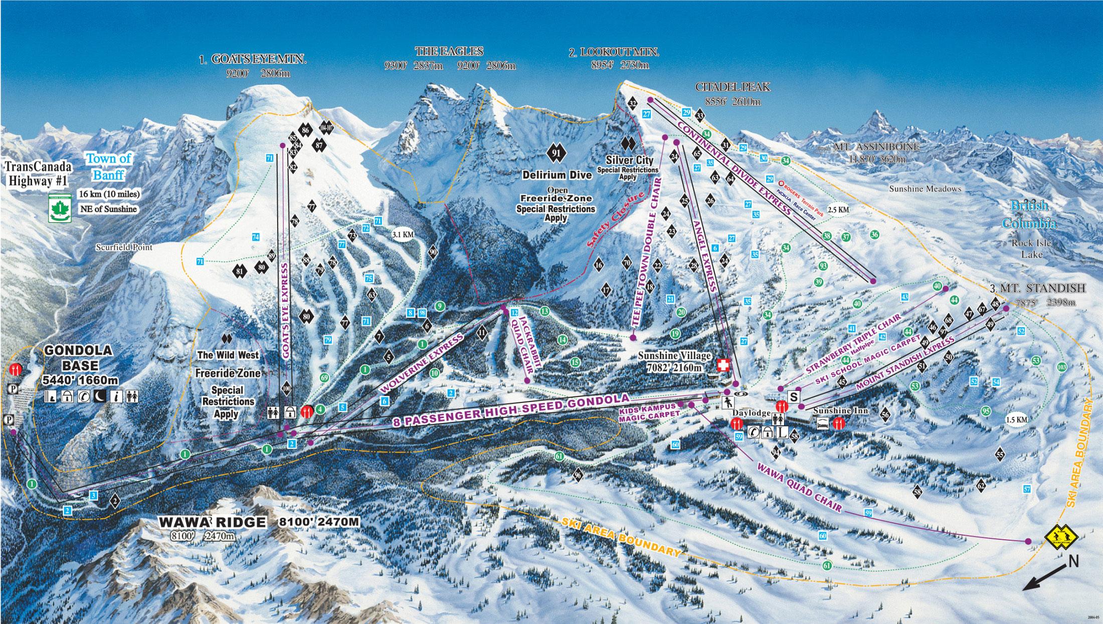 banff, canada - amazing ski adventures with alpine adventuresalpine