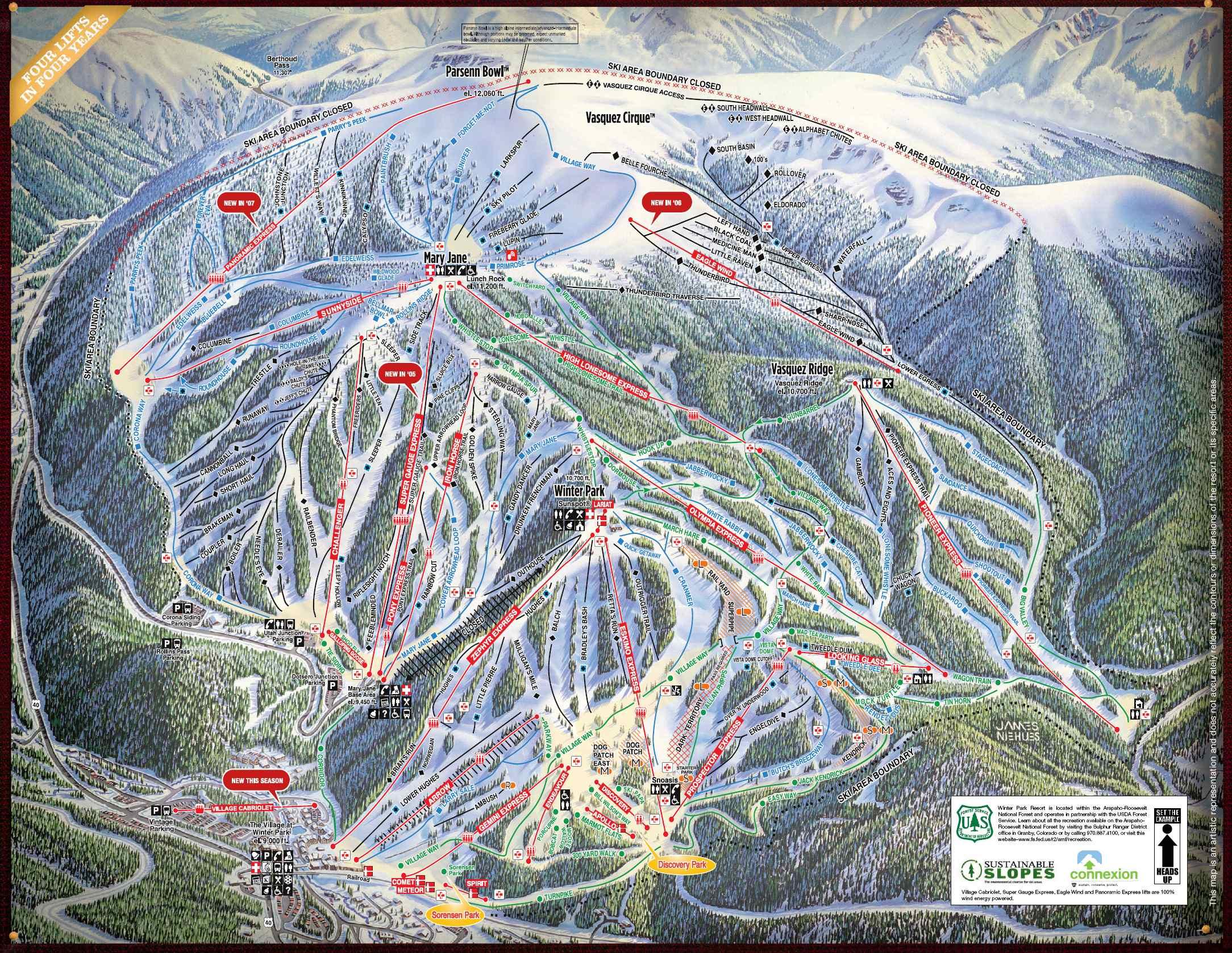 Winter Park Colorado Map | compressportnederland