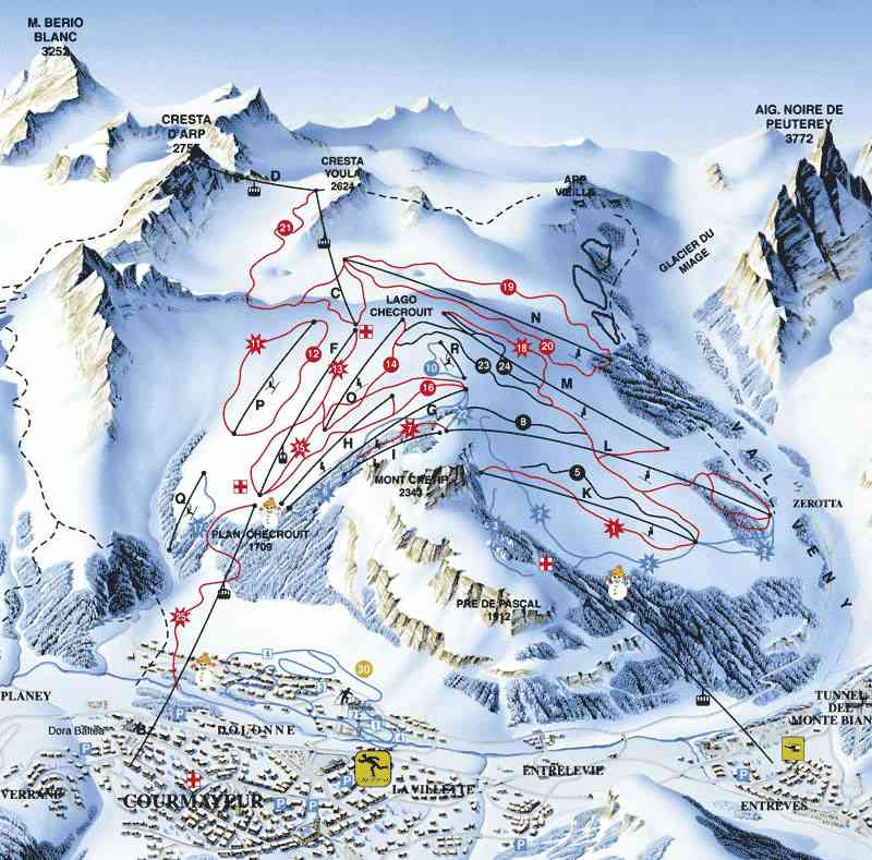Courmayeur Alpine Adventures Luxury Ski