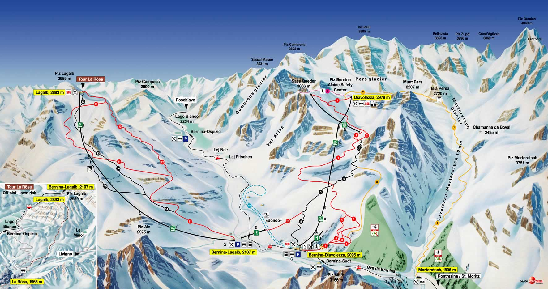 st Moritz Switzerland Attractions Switzerland Map st Moritz