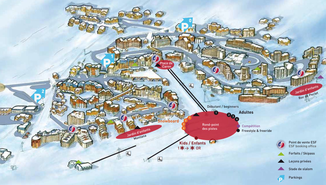 Val Thorens, France | Alpine Adventures - Luxury Ski Vacation Travel Booking & Packages