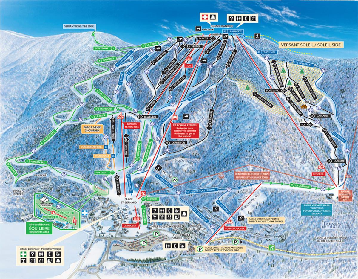 Mont Tremblant Canada Ski Adventures With Alpine