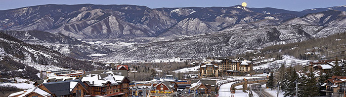 Snowmass, with its new base village well underway is a mere 15 minutes from the town of Aspen. The Treehouse Kids' Adventure Center is basecamp for all things family.
