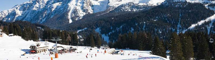 Madonna di Campiglio is famous for its high life, but just a short way out of town you will find a round of lakes, valleys, streams, malghe (alpine shepherds' huts) and refuges.