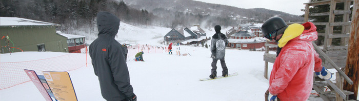 Sugarbush, Mad River Valley in Warren, Vermont,