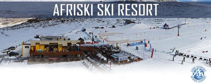 Afriski is one of only two ski resorts on the African continent.