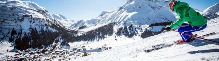 Lech am Arlberg is a mountain village and an exclusive ski resort in the Bludenz district of Vorarlberg, in western Austria, on the banks of the river Lech.