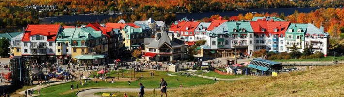 The Fairmont Tremblant resort in Quebec