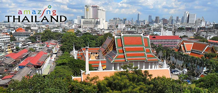 Bangkok is the city where the tastes of many places are mixed into an often-spicy dish.