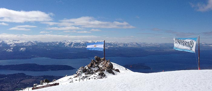 Summer Skiing in The Southern Volcanoes Chile and Argentina, South America 2014