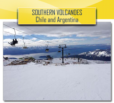 Southern Volcanoes Chile Argentina
