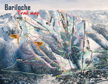 Bariloche-trail-map