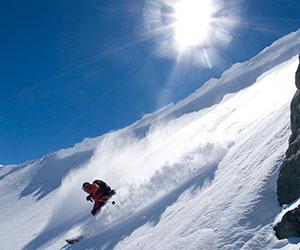 Cat Skiing at Ski Arpa