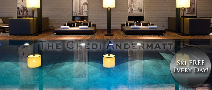 Chedi Andermatt And Ski FREE Every Day