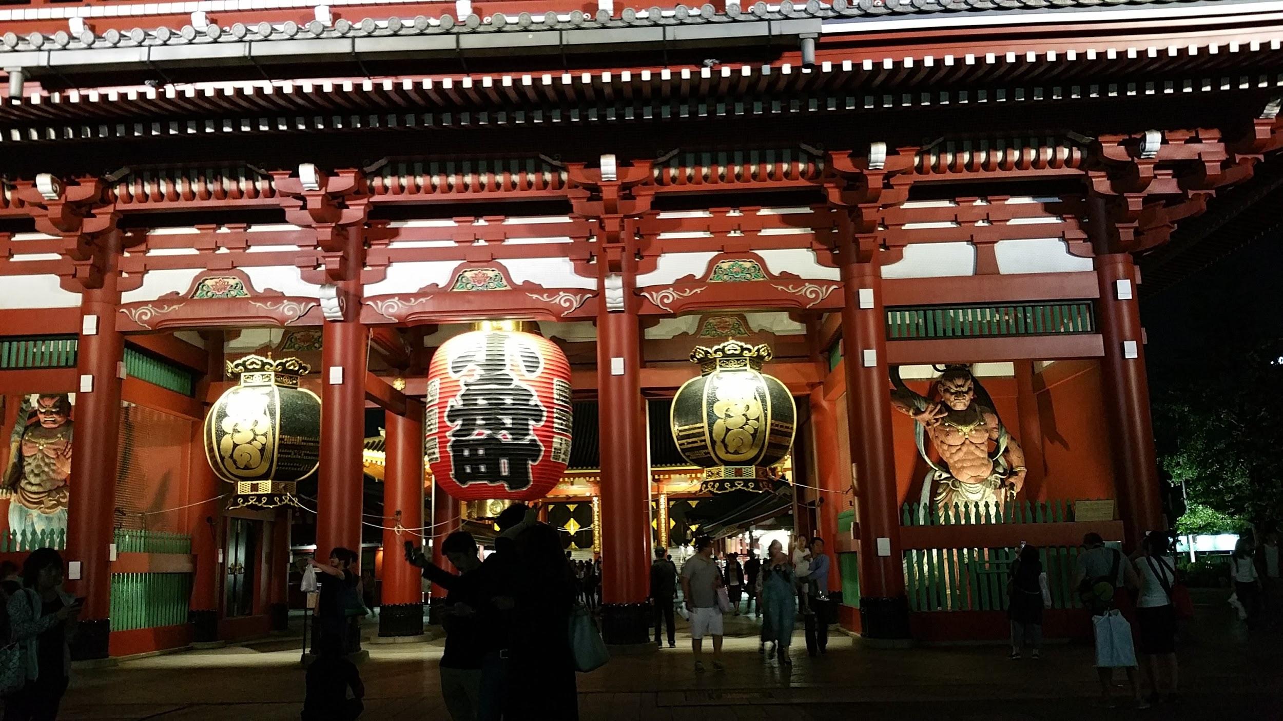 Japanese Buddhist temple - Sensō-ji