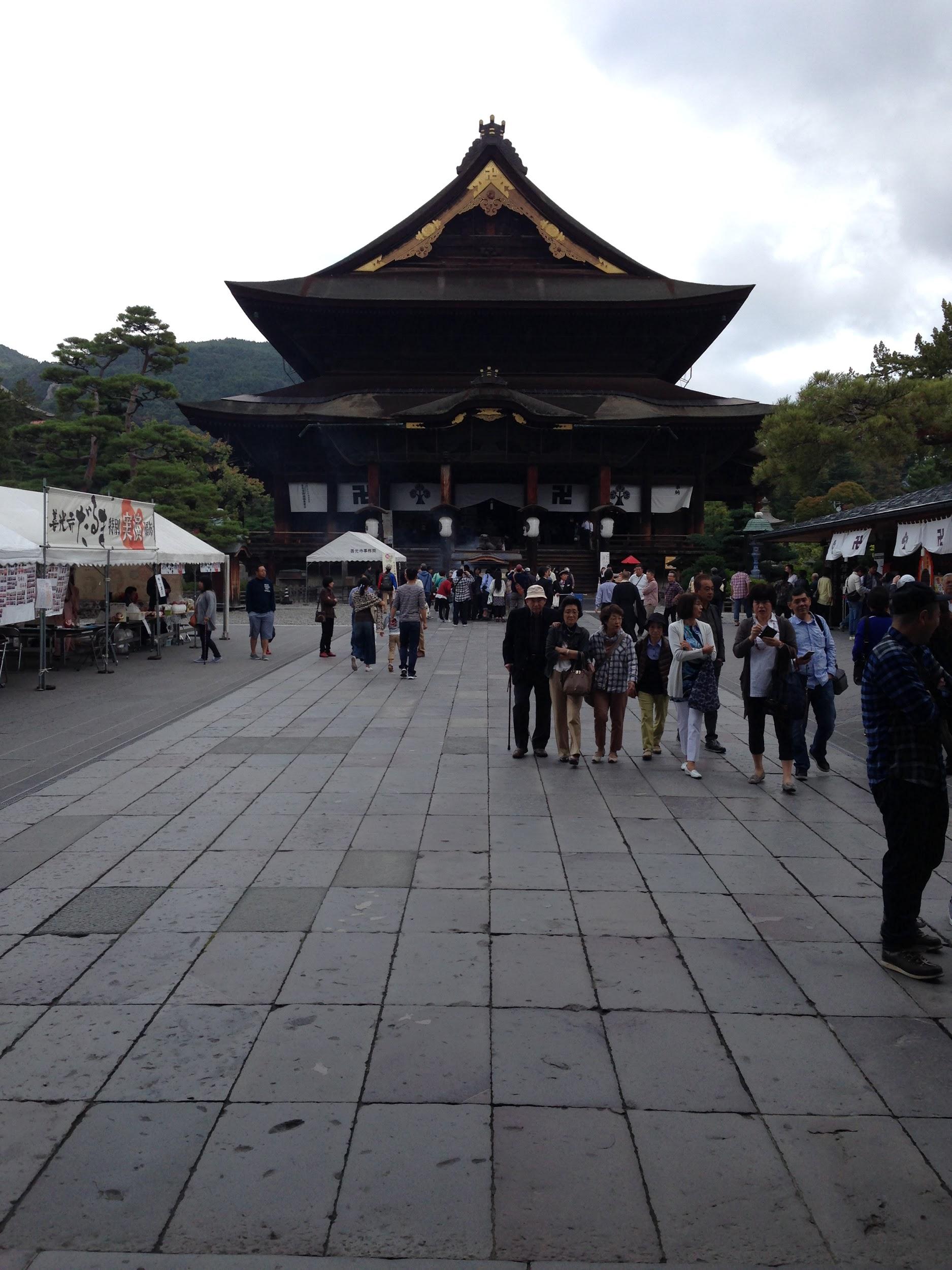 Zenkō-ji Temple in Nagano City