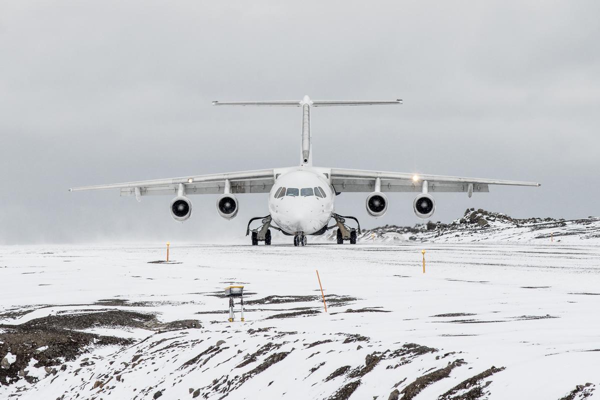 Antarctica air